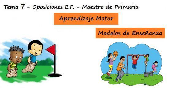 Aprendizaje Motor y Modelos de Enseñanza