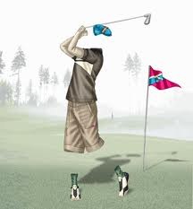 material de golf