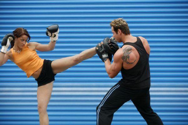 Tecnica de kick boxing