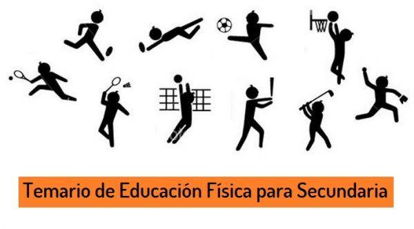 Temario Educacion Fisica Secundaria