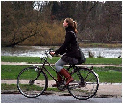 Los beneficios de pasear en bicicleta
