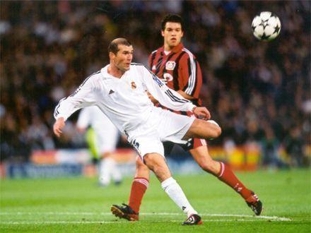 zinedine zidane gol champions league real madrid