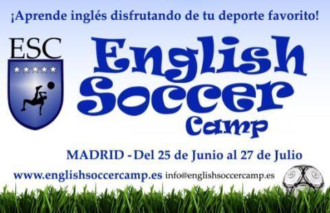 Campus de Fútbol e Inglés para Niños en Madrid para Verano
