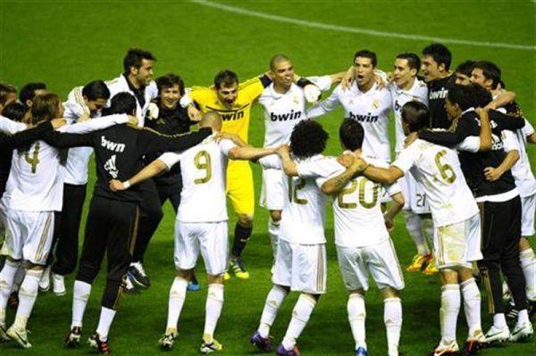 El Real Madrid suma su 32 campeonato de Liga en Bilbao