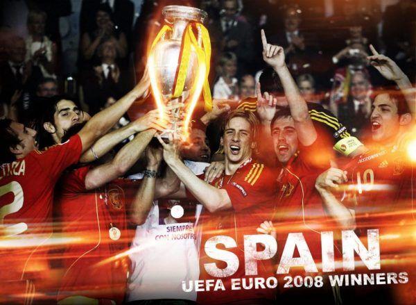 Los Goles de España cuando fue Campeona la Eurocopa