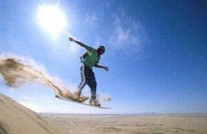 """Sandboarding: el """"esqui"""" de playa"""