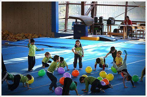 educacion fisica niños