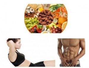 Alimentos para Marcar Abdominales