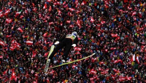 foto salto de esqui