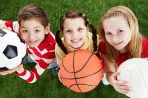 Los niños y el deporte