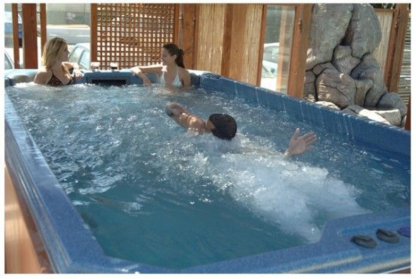 natacion y spa en casa