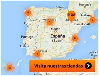 Tiendas Sport Zone en Espana