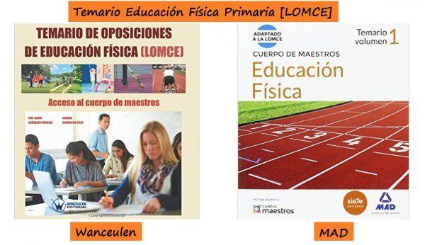 Temarios de Educación Física para Primaria Adaptados a la LOMCE