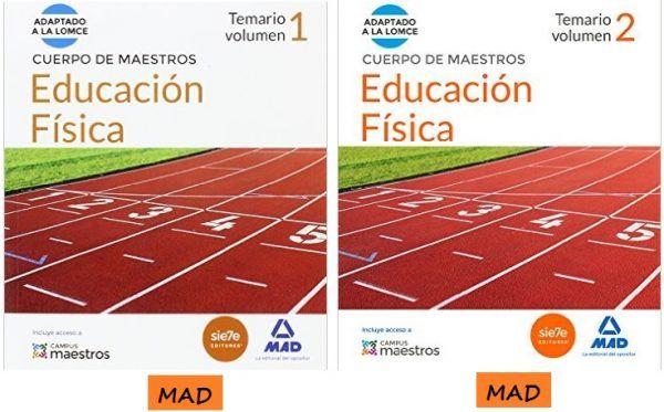 Temario Oposiciones Maestros Educación Física MAD