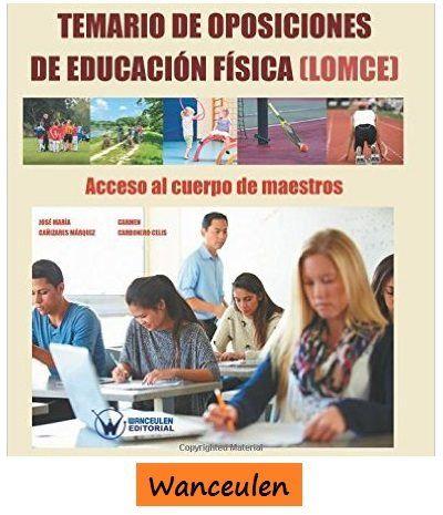 Temario de Oposiciones de Educación Física (LOMCE)
