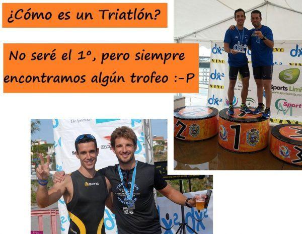 """Pocos son los que ganan un triatlón, pero siempre encuentras """"tu trofeo"""""""