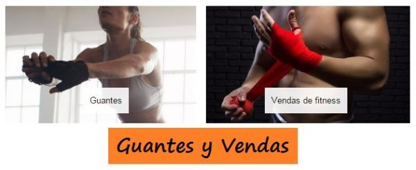 Guantes y Vendas para CROSS FIT