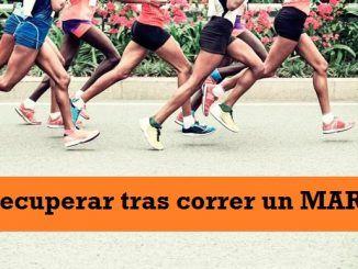 ¿Cómo Recuperar Tras Correr un Maratón?