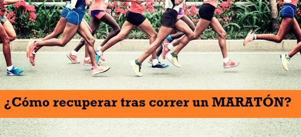 Como Recuperar Tras Correr un Maraton