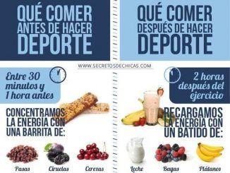 Qué comer antes, durante y después del entrenamiento