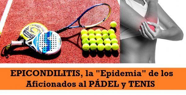 Epicondilitis Lesion Padel y Tenis