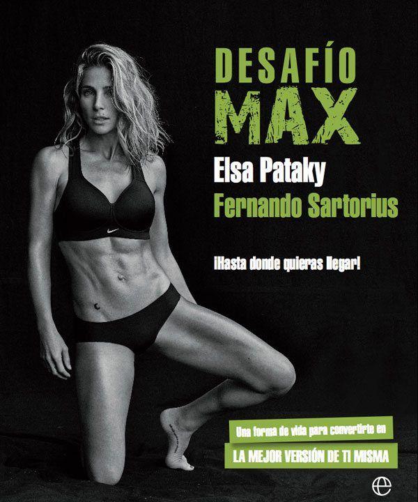 Elsa Pataky Publica el Libro Desafío Max