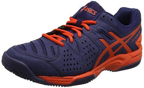 Asics Gel-Padel Pro 3 SG, Zapatillas de Tenis Hombre, Azul (Astral Aura/Cherry Tomato), 45 EU