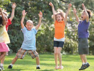 3 juegos de educación física para los más pequeños