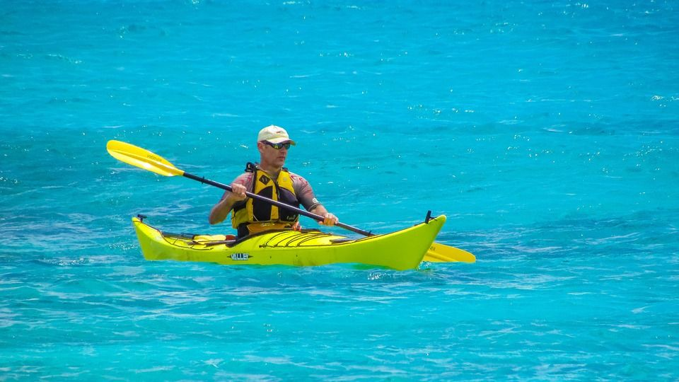 practicar kayak – beneficios