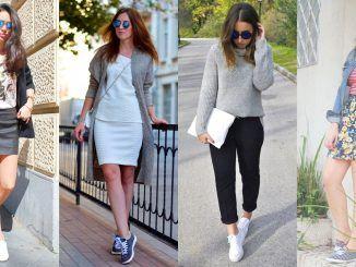 zapatillas casual de mujer