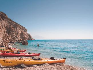Practicar Kayak En Verano