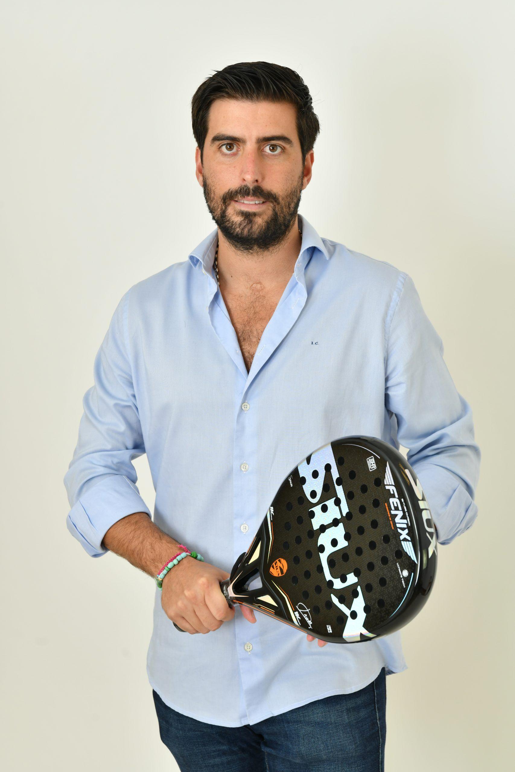 Iñigo Colomina, CEO de Padel Nuestro